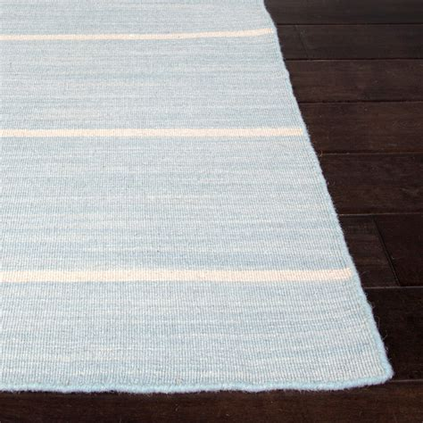 4 X 8 Kitchen Rug Flat Weave Wool Cape Cod Rug Light Blue 5 X 8 Jaipur Rugs Touch Of Modern