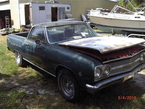 chevrolet el camino for sale 1965 chevrolet el camino project car for sale