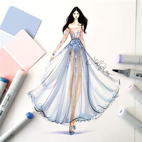 fashion illustration tutorial color of the year 2016 fashion tutorial creative
