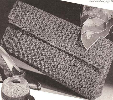 pattern crochet clutch round square and free patterned crochet clutches