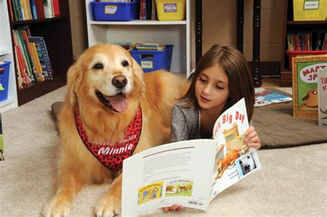 reading to dogs therapy 101 american libraries magazine