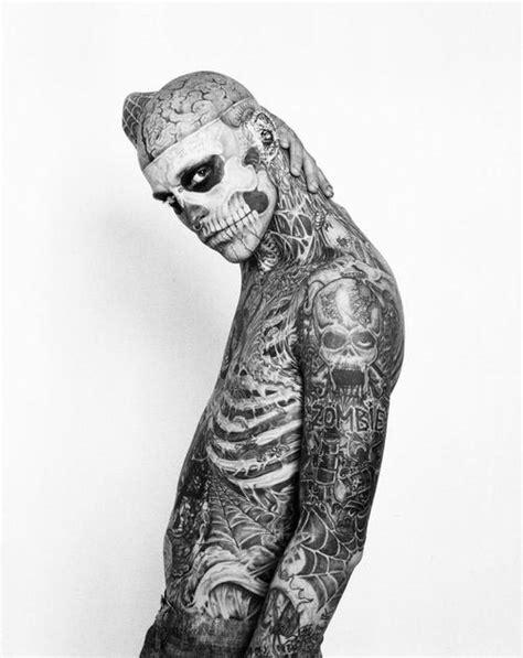 skeleton man tattoo full body sick tattoos3d tattoos