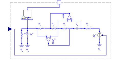 antoniou inductor emulator circuit 28 images filters and tuned lifiers ppt the op