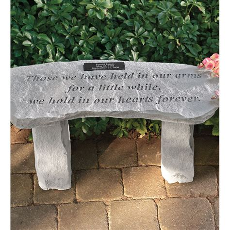 Personalized Memorial Garden Bench Best Selling Garden Art