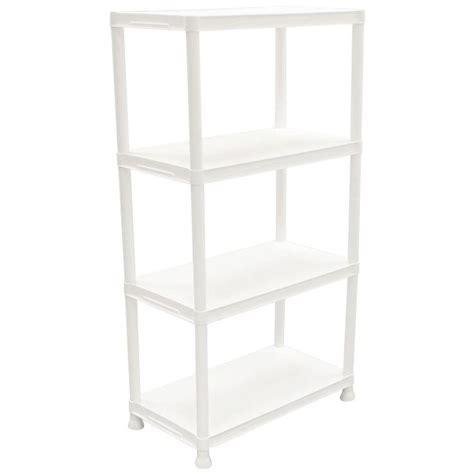 white plastic storage shelves 17 best ideas about plastic storage shelves on