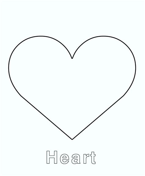 printable heart art free printable heart shape templates template update234