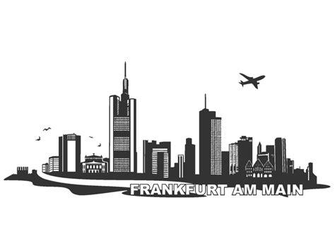 wandtattoo frankfurt skyline franfurt am main wandtattoo