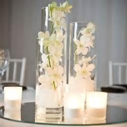Decorating A Glass Vase Set Of 3 Cylinder Vases Mirror Base Tealight Candles Diy