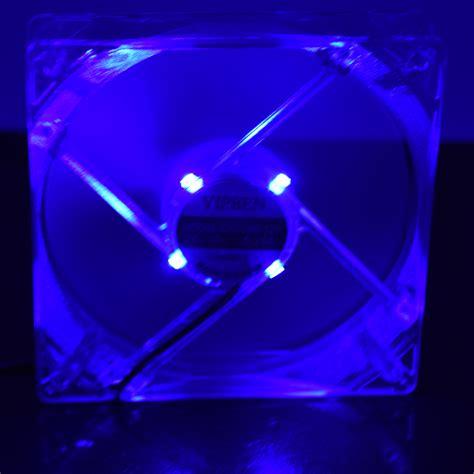 Alseye Fan Casing Led 12 Cm Sooncool New yttl 120mm 4 blue led light cpu cooling fan computer pc clear 12cm heatsink new in