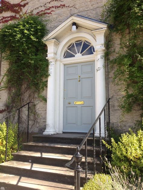 Georgian Front Door Colours Georgian House In Helmsley Really Like The Front Door Colour Try Light Blue 22 By Farrow And