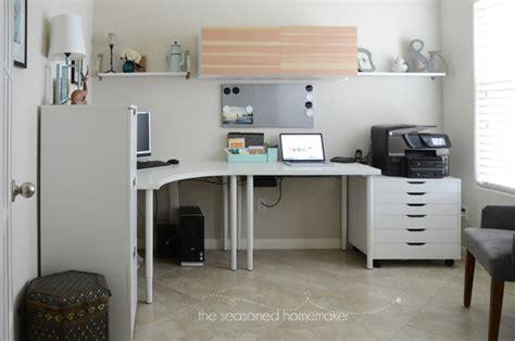 office makeover diy office makeover the seasoned homemaker