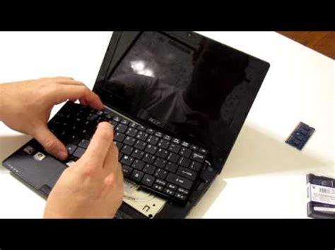 Ram Untuk Netbook Cara Membongkar Netbook Acer Aspire One D255 Untuk Upgrade Ram Komget