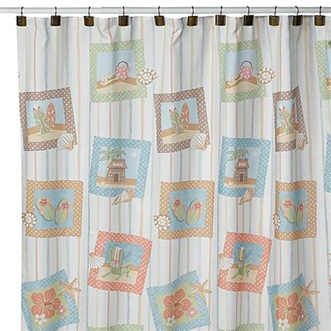 surfboard shower curtains surf s up shower curtain bed bath beyond
