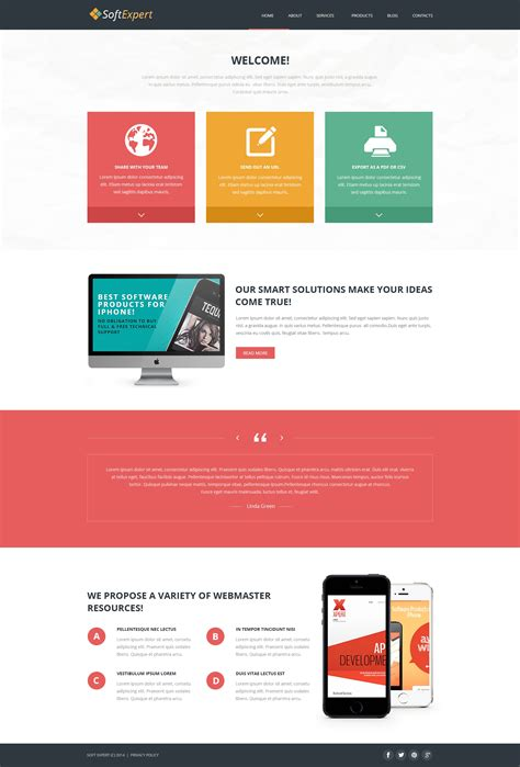 template joomla software soft expert joomla template 49485