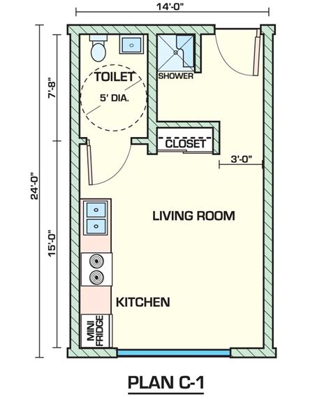 studio apartments floor plans creative small studio apartment floor plans and designs