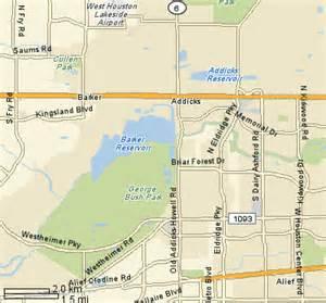 Braker Tx Addicks Barker Reservoir Parks Energy Corridor District