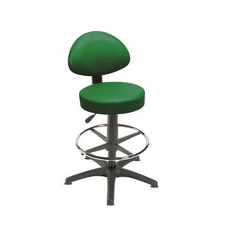 Green Stool And Gas by Sunflower Green Gas Lift Stool With Back Rest