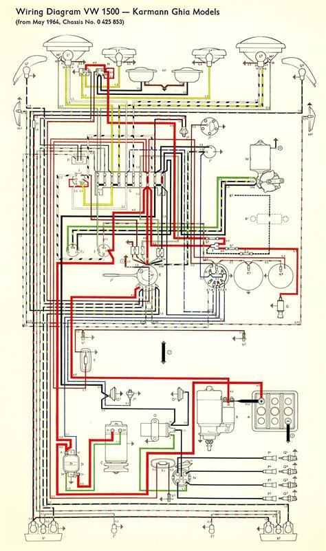 thesamba com type 3 wiring diagrams