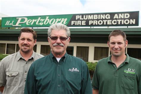 Pertzborn Plumbing by Longevity In Business H J Pertzborn Plumbing And