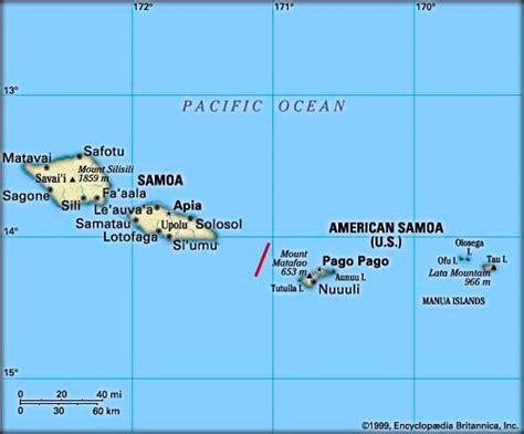 map american samoa american samoa map newhairstylesformen2014