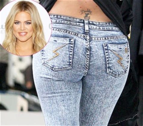 khloe kardashian has her lower back tattoo removed and