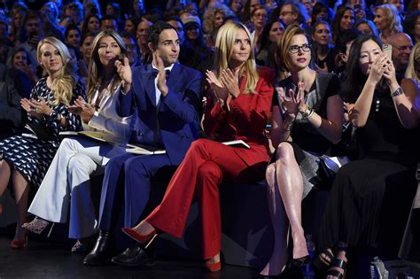 project runway front row spring 2016 new york fashion week the carrie underwood photos photos project runway front