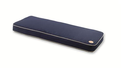 bench cushions uk bespoke collection 2 seater bench cushion midnight blue