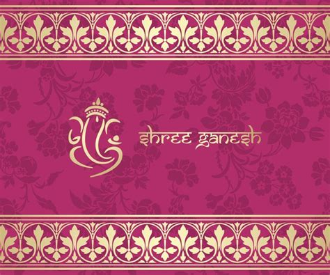 indian pattern ai indian ethnic pattern with pink backgrounds vector 10
