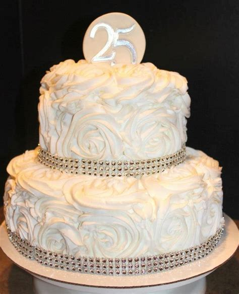 Simple Birthday Party Decorations At Home by You Have To See 25th Wedding Anniversary Cake By Cuppycake
