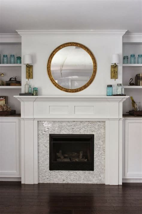 built in fireplace cabinets built in fireplace and cabinets tutorial