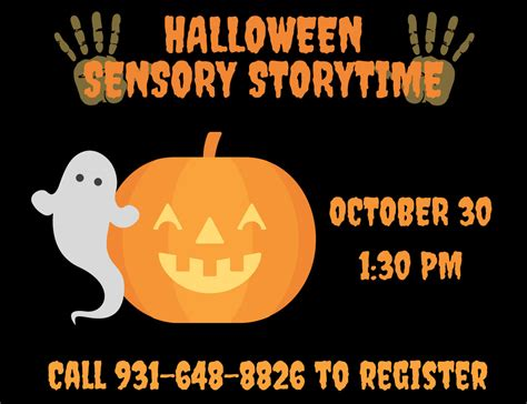halloween storytime clarksville montgomery county public library to hold halloween sensory story time this sunday