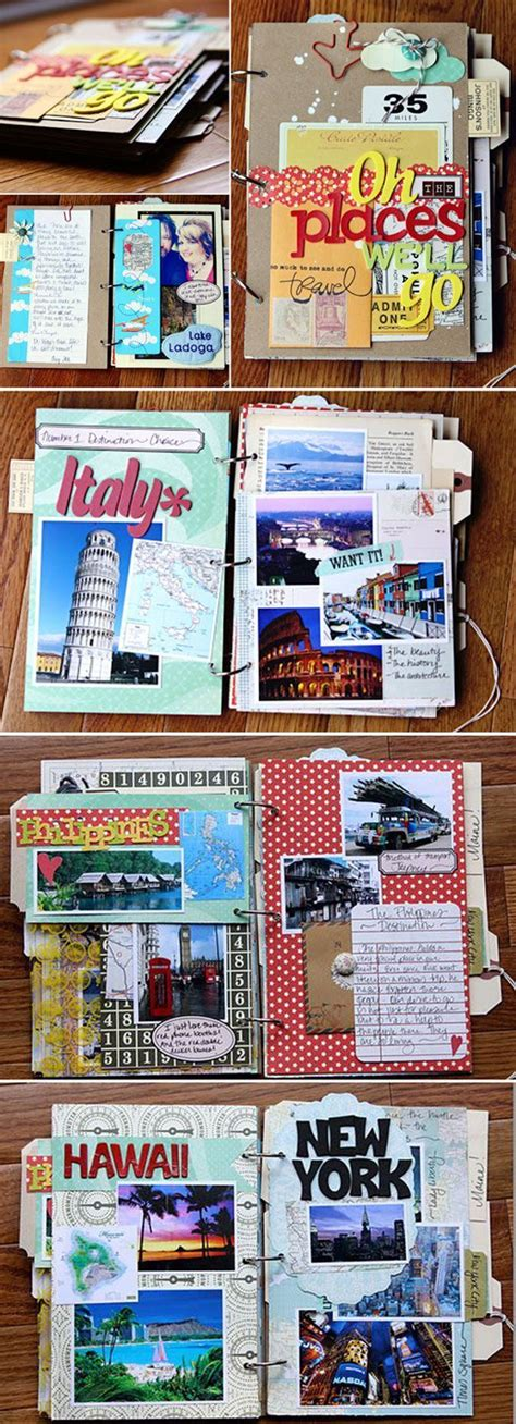 scrapbook tutorial pinterest cute and easy scrapbook design tutorial travel scrapbook
