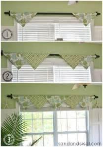 Sewing Kitchen Curtains Best 25 Valance Ideas Ideas On No Sew Valance Kitchen Curtains And Faux Shades