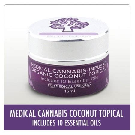 coconut skin topical cannabis infused organic coconut topical topical s
