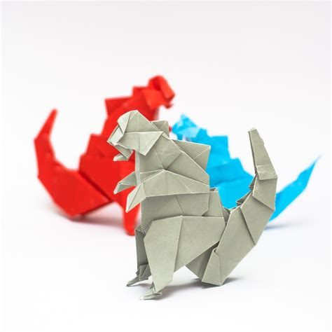 godzilla origami origami godzilla image collections craft decoration ideas
