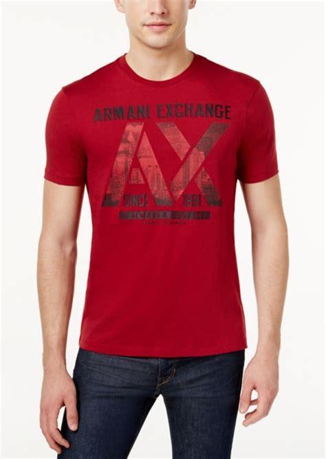 Armani Exchange Mens T Shirt Size S armani exchange armani exchange s graphic print t shirt t shirts shop it to me