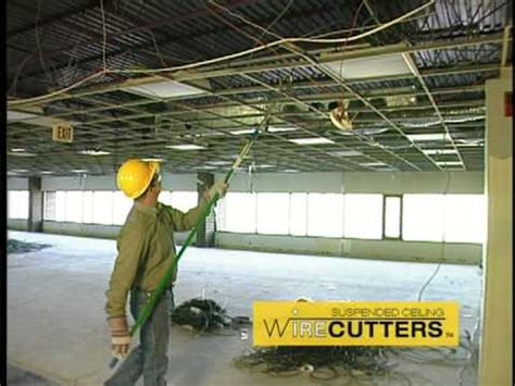 Suspended Ceiling Wire by Wire Wolf Suspended Ceiling Wire Cutter