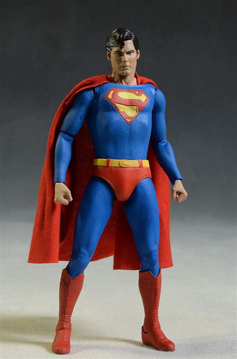 Onegai Figure C Original review and photos of neca christopher reeve superman figure