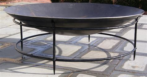 metal pit bowl keep the in a steel pit pit design ideas