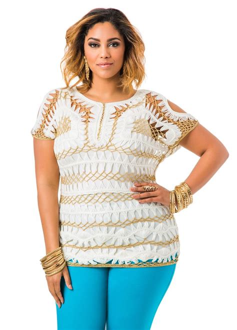 Cassava Tunic Www202clothescom 23 best images about blusas hecho con horquillas on shops hairpin lace and ralph