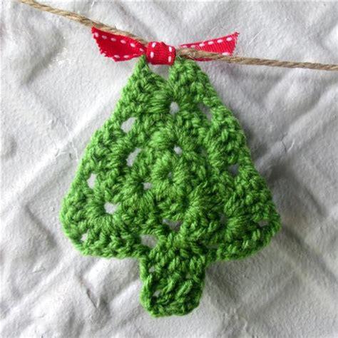 crochet pattern christmas tree bunting crochet christmas bunting vintage chenille madeit com au