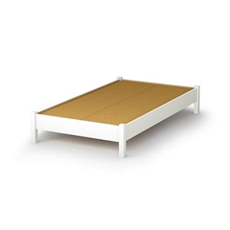 simple wood platform bed twin size simple platform bed frame in white wood finish