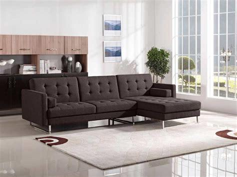 fabric sectional sleeper sofa chocolate fabric sofa sleeper ds copus fabric sectional