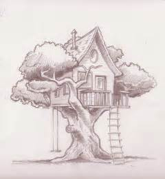 House Sketch house drawing recherche google simple tree house tree houses house