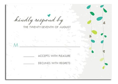 Wedding Invitation Reply Card Template by What To Include In Wedding Invitation Everafterguide