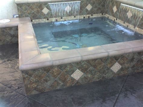 custom in ground concrete spas mediterranean pool toronto by complete spa and pool