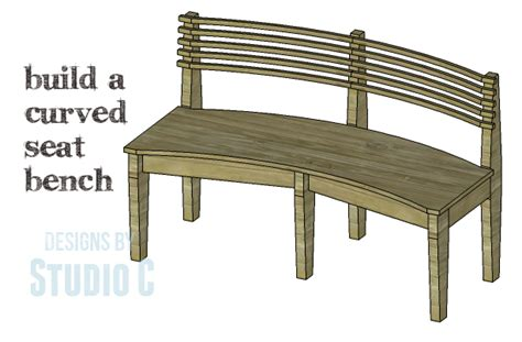 how to make a curved bench diy plans to build a curved seat bench