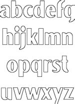 dltk printable alphabet letters 1000 images about template royal icing on pinterest