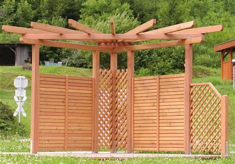 Pergola Bausatz Holz by Pergola Perfekter Sichtschutz F 252 R Den Garten Pergola