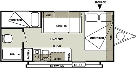 salem rv floor plans difference between salem 195bh and wildwood 195bh